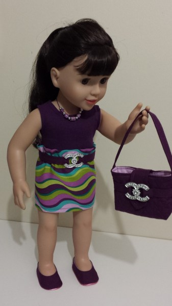 Australian Girl Dolls Clothes Shoes and Handbag - Chanel Inspired - Made by Chris Lucas