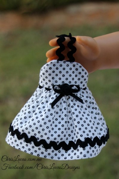 Mini AG Dolls Dress - Chris Lucas Designs