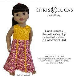 Dolls Outfit Designed to Fit American Girl and Australian Girl Dolls