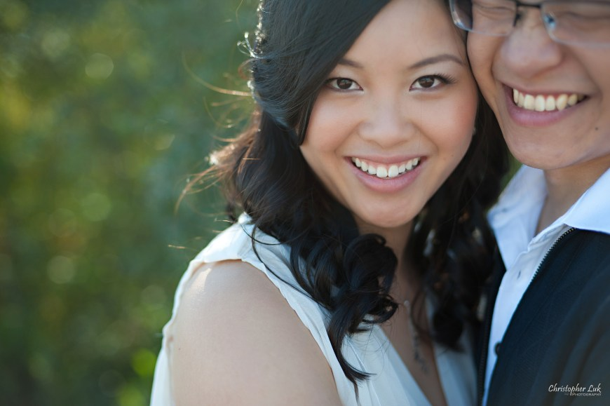 Christopher Luk 2012 - Engagement Session - Keren and Mat - Cherry Beach Historic Distillery District - Toronto Wedding Lifestyle Lifetime Photographer - Hug Warm Embrace Smile Laugh