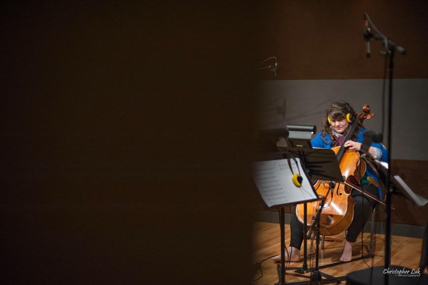 Christopher Luk 2013 - Revolution Recording and The University of Toronto Gospel Choir - Day 5 - Toronto Wedding Portrait Lifestyle Photographer - Cello Player Cellist Katie Bestvater