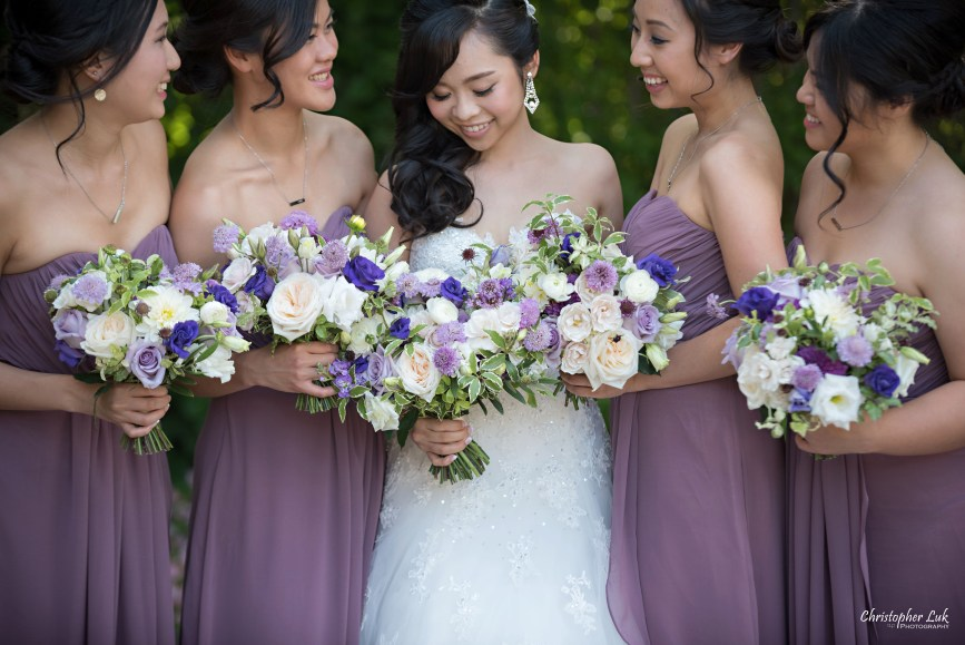 Christopher Luk (Toronto Wedding Photographer): Christine and Jonathan's Wedding - Graydon Hall Manor Toronto Foodie Summer Outdoor Garden Ceremony Patio Terrace Tent Dinner Reception Natural Candid Photojournalistic Bride Bridesmaids Flower 597 Flower597 Floral Bouquets Detail Smile