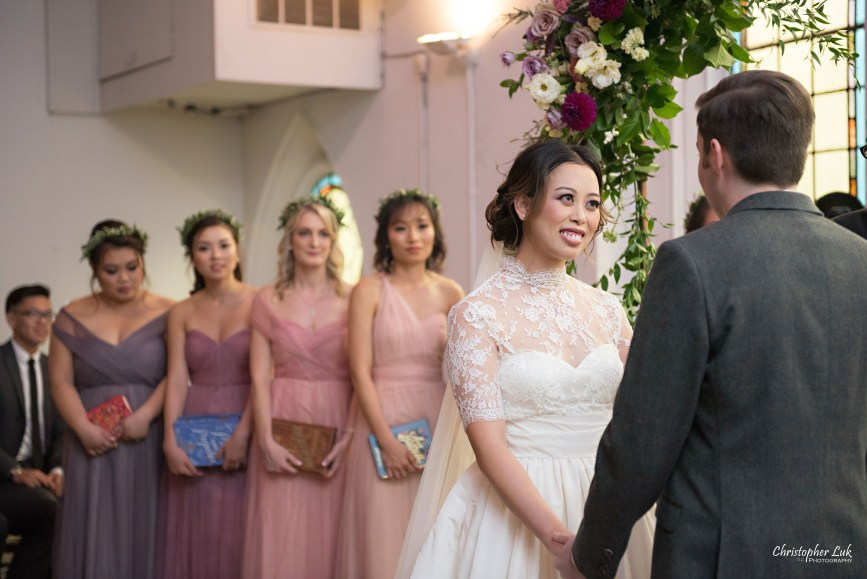 Christopher Luk (Toronto Wedding Photographer): Berkeley Church Vintage Rustic Ceremony Candlelight Dinner Reception Pinterest Worthy Details Candid Natural Photojournalistic Bride Groom Bridesmaids Vows Smile