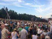 thousands of people at The Lumineers