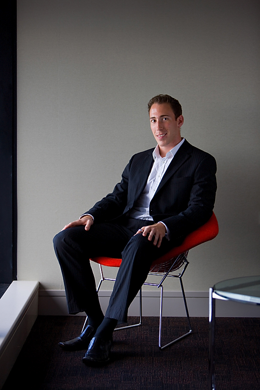 Chris Maloney Australia Post Priority Magazine Photo Shoot
