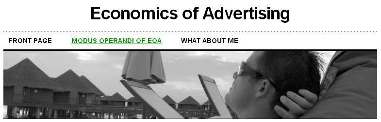 Economics of Advertising
