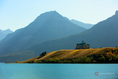 Prince of Wales Hotel in Waterton, Alberta, Canada