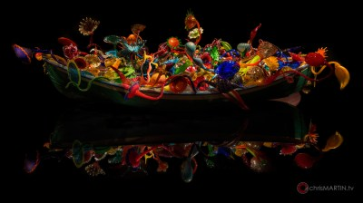 Ikebana Boat, Dale Chihuly, Oklahoma City Museum of Art, Oklahoma City, OK