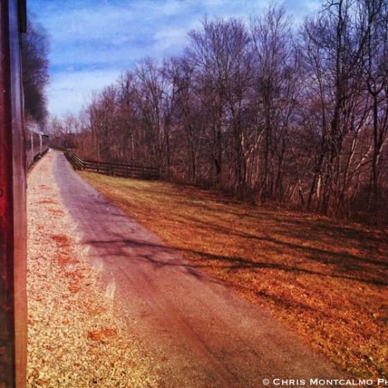 Grunge Train Window