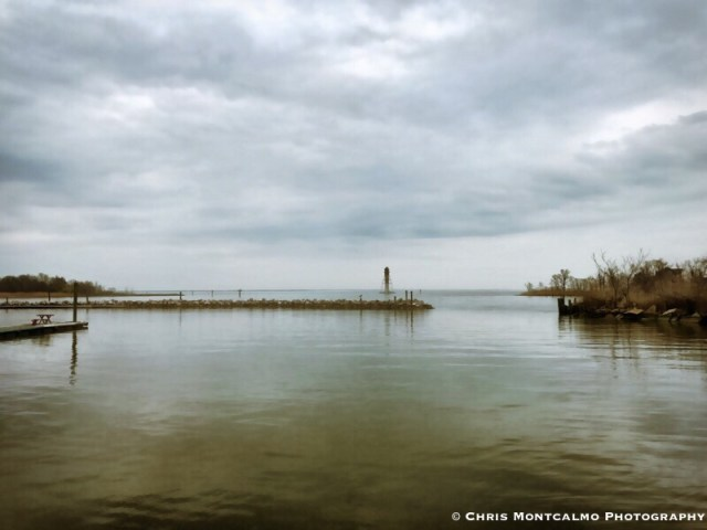 Gloomy Chesapeake Bay
