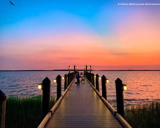 Sunset Island Pier