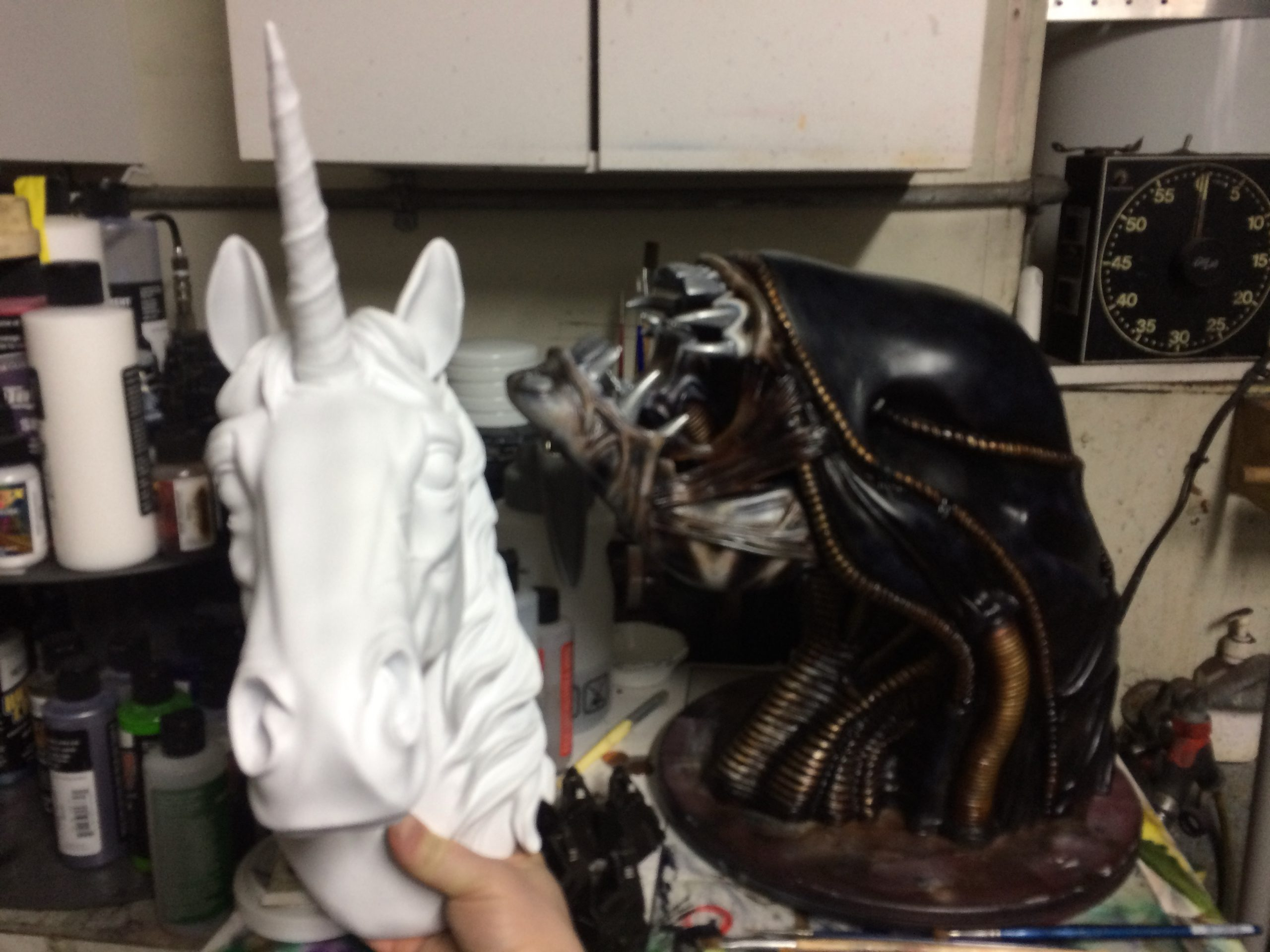 How a Xenomorph lead me to painting Unicorns…
