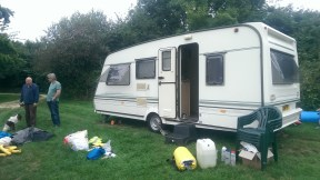 Betsie the caravan.