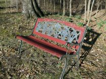 A resting bench...if we had the time!