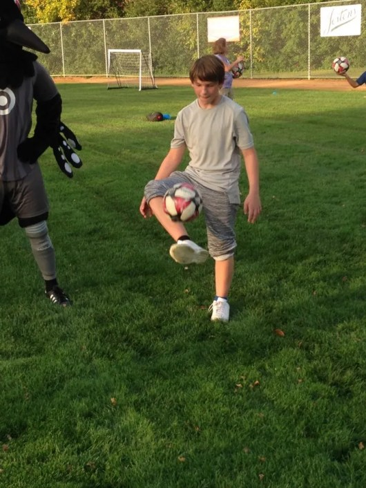 Ethan's fancy ball handling