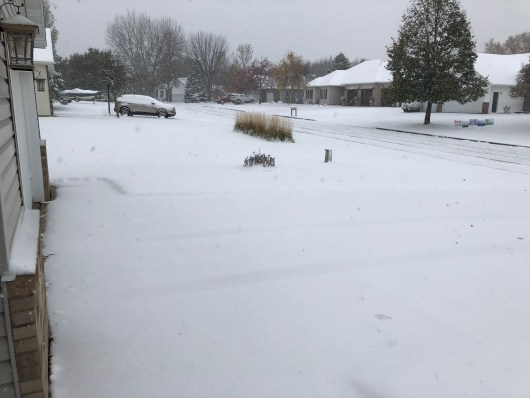More October MN snow