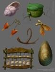 Chris Oatley: Disney Fairies Prop Designs - VisDev Paintings