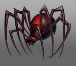 Hoodwinked Too - Giant Spider - Digital Painting by Chris Oatley