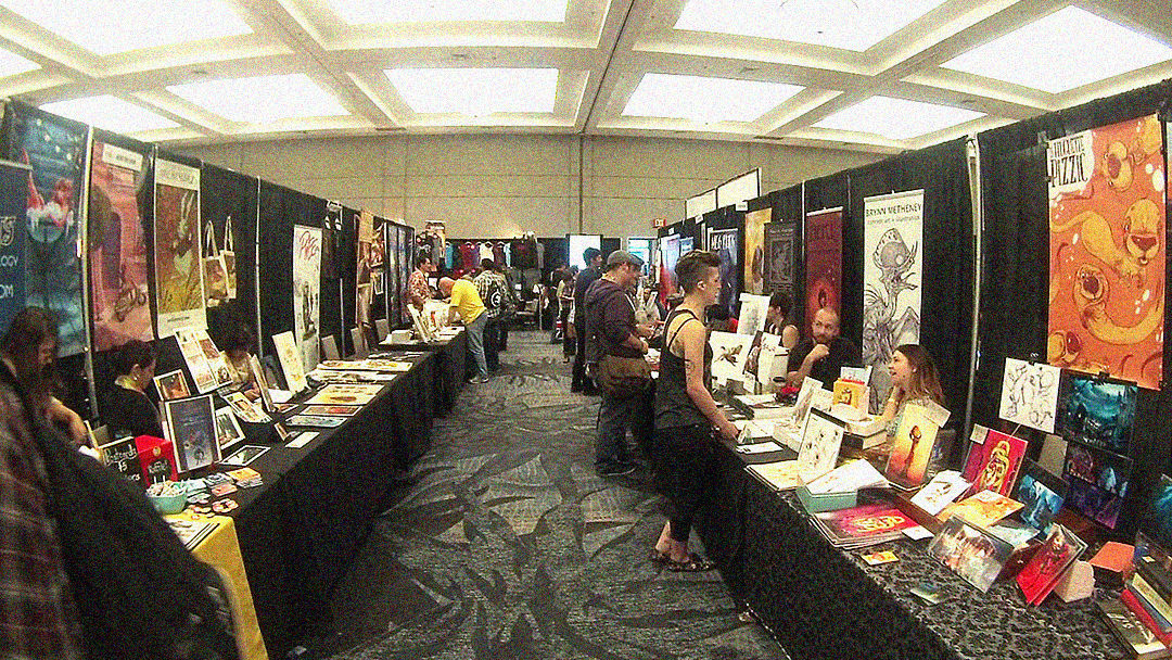 Image result for small convention artist alley