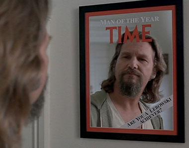 Jeffrey Lebowski: Time Man Of The Year
