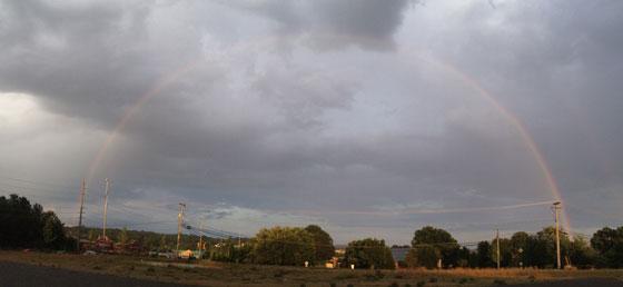 Chris Oatley's Double Rainbow