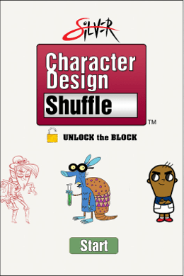 Silver-Character-Design-Shuffle