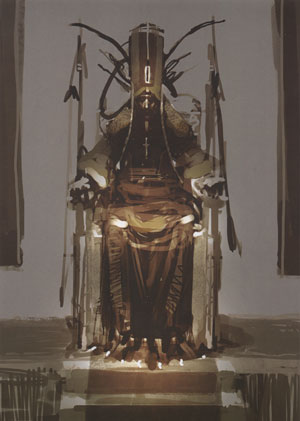 'King' Concept by Felix Yoon from one of the best concept art books ever: 'The Skillful Huntsman'