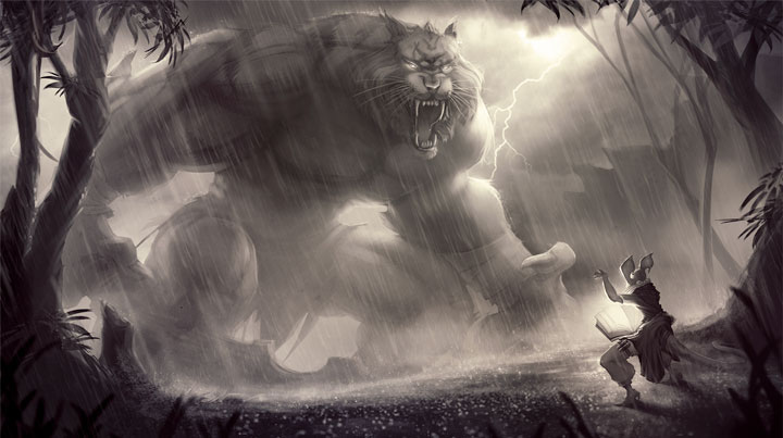 "Amanda Duarte's ""David and Goliath"" [ click to see the hi-res version ]"