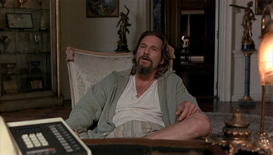 """Jeffrey Lebowski meets The Big Lebowski and learns that """"The bums will always lose."""""""