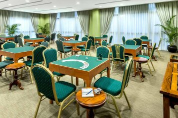 Interior Photography Tanglin Club Singapore Card Room 1080