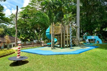 Interior Photography of the Play area at Swiss Club Singapore