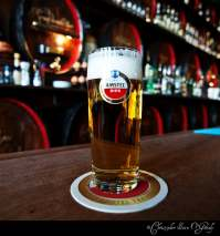 Amstel Consumed at Cafe Hoppe in Amsterdam