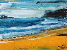 Christine Nicolson - NZ abstract landscape