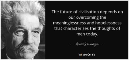 Schweitzer - civilisation