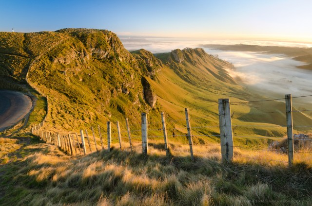 New Zealand photos | Te Mata Peak, sunrise, Hawkes Bay, NZ