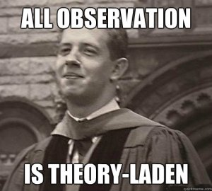 All observation is theory-laden