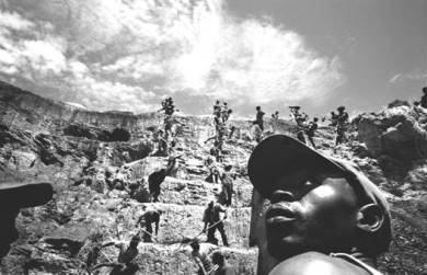 Pit mining
