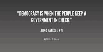 Ang Sung on democracy