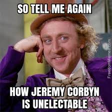 Corbyn unelectable?
