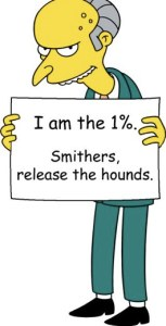 Mr Burns 1%
