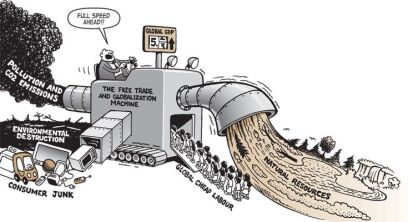 Free trade & global machine
