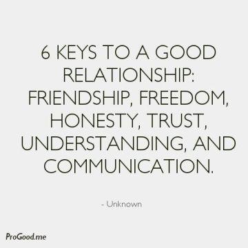 6 keys to relationships