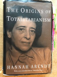 The Origins of Totalitarianism - Arendt.JPG
