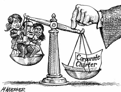 Corporate power