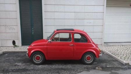 Old school Fiat 500