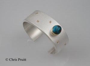 Bisbee Cuff with Diamonds 2013 A