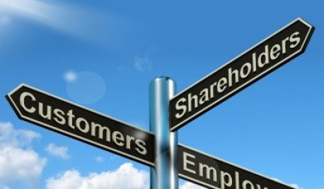 attracting customers employees shareholders