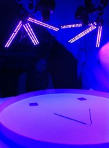 UV illuminated experiment