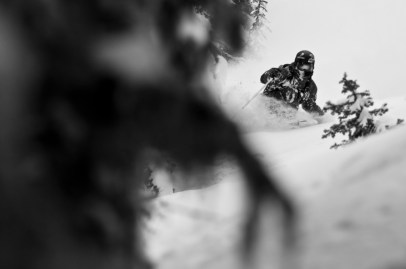 Tree skiing is an all time favourite