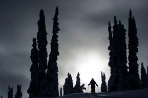 Ski touring in the Monashees